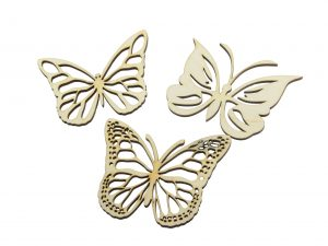 Butterflies 3 Pcs NO6