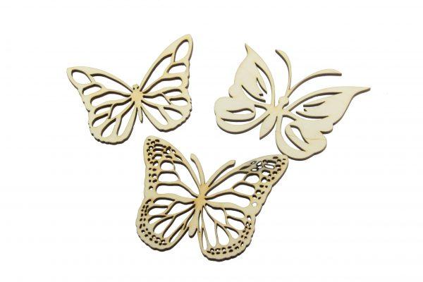 Butterflies 3 Pcs NO6