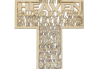 Wooden Cross as Wall Decor