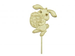 Wooden Hare Topper NO3